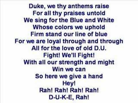 Duke University - Fight Song
