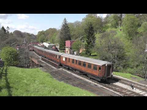 North Yorkshire Moors Railway Spring Gala 12/05/12