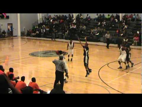 Tony Fulton, # 3,  2011-2012 Basketball Highlights, Timmonsville High School