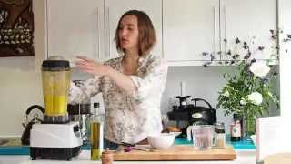 Saskia's Raw Food Recipes: Carrot And Coriander Soup