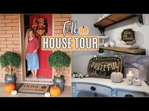 FALL HOUSE TOUR 2019🍁 | DECORATING IDEAS & FALL DIY | DECORATE WITH ME