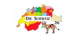 Die Schweiz und ihre 26 Kantone
