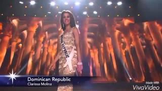Miss Universe 2015 preliminary DOMINICAN REPUBLIC, Clarissa Molina