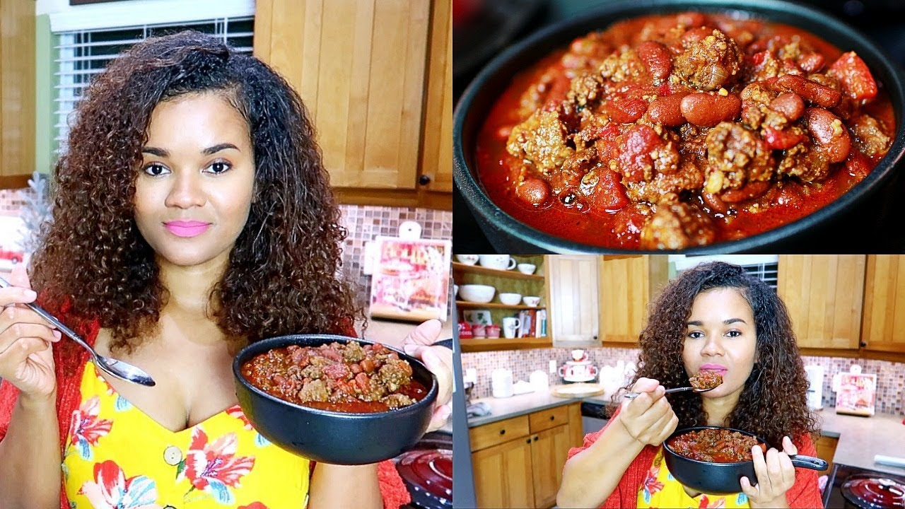 Cook Dinner With Me - Homemade Chili Recipe
