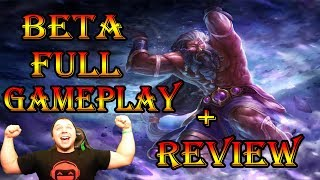 Gods Unchained - BETA GAMEPLAY REVIEW!