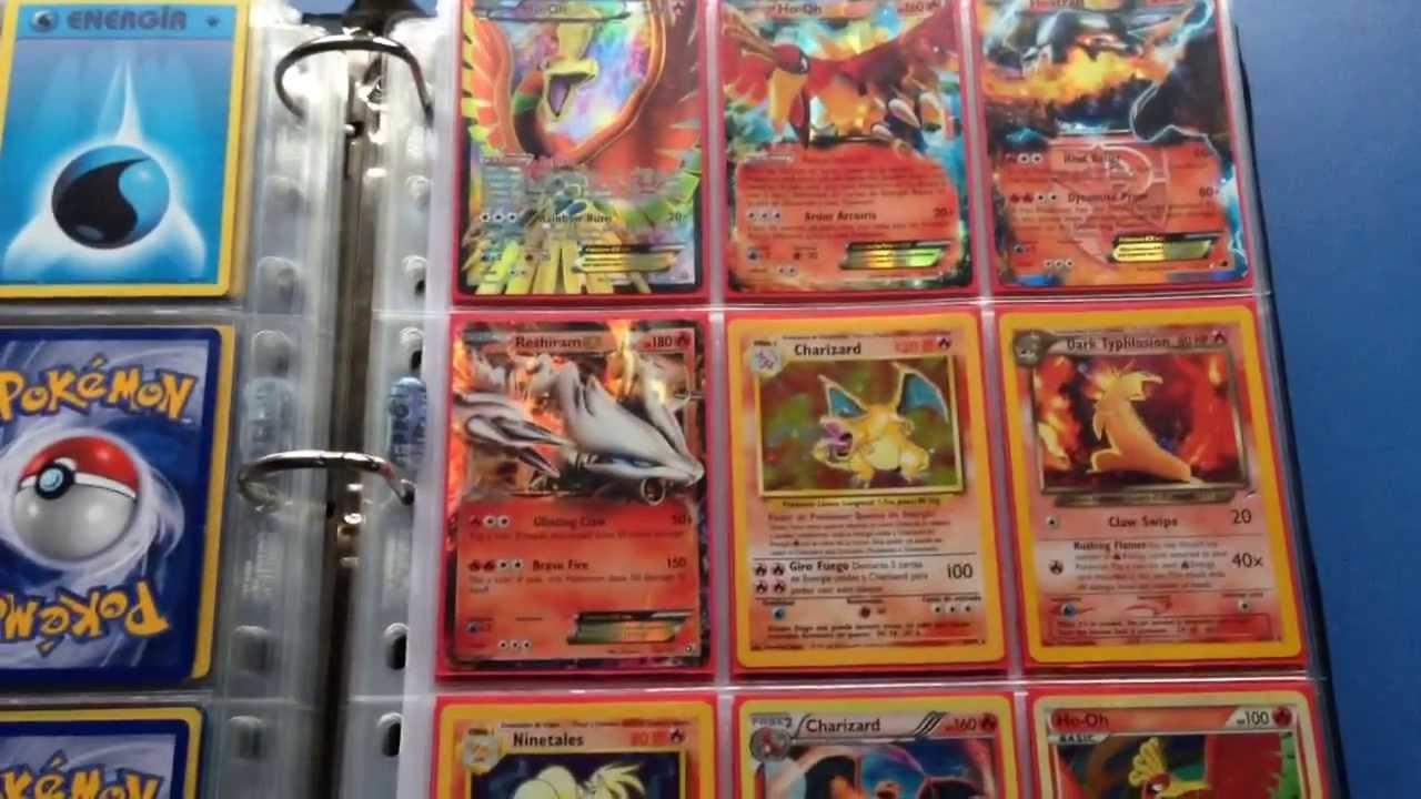 Colecci 243 N Cartas De Pokemon De Fuego Ex Full Art Holos