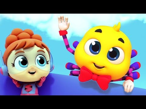 Itsy Bitsy Spider | Nursery Rhymes & Kids Songs | Super Supremes Videos