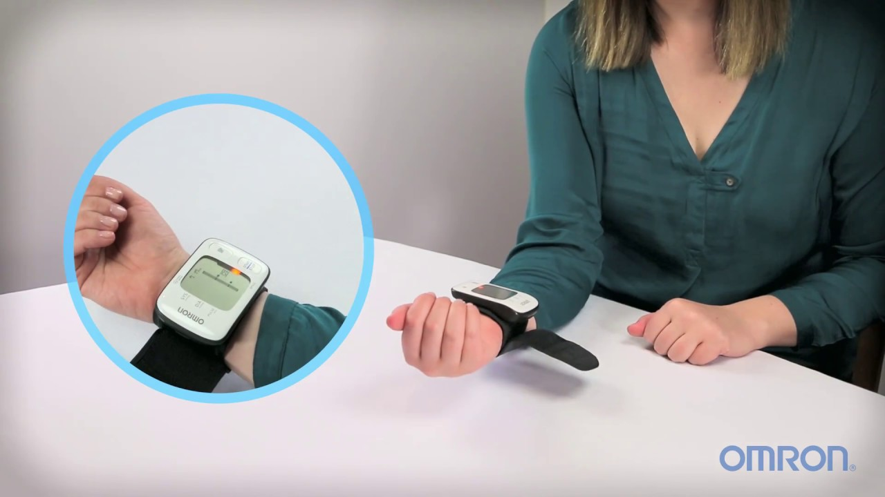how to take a blood pressure measurement using an omron ultrasilent bp monitor [ 1280 x 720 Pixel ]