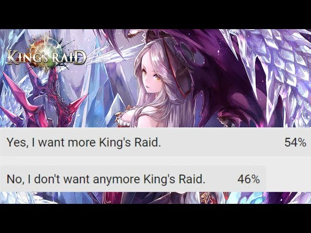 Discussing the Recent Kings Raid Poll...