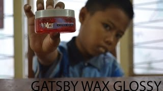 Review Gatsby Wax Water Gloss