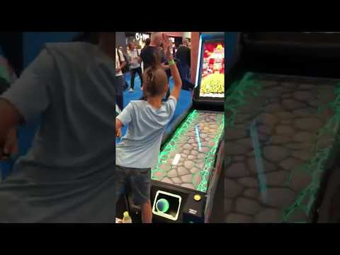 IAAPA Europe 2019 - i-Bowl Dinos - Virtual Bowling - Bowling Lanes - Imply® Group
