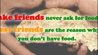 Funny Friend Quotes - 9 Funny Friendship Sayings