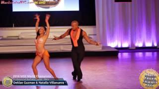 WSS16 Professional Bachata Classic World Champions Deklan Guzman & Natalia Villanueva