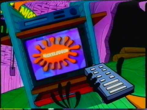 Nickelodeon UK on digital, cable & satellite 2001 VHS UK Advert