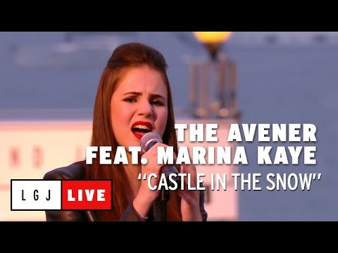 The Avener feat. Marina Kaye - Castle in the snow - Live du Grand Journal de Cannes