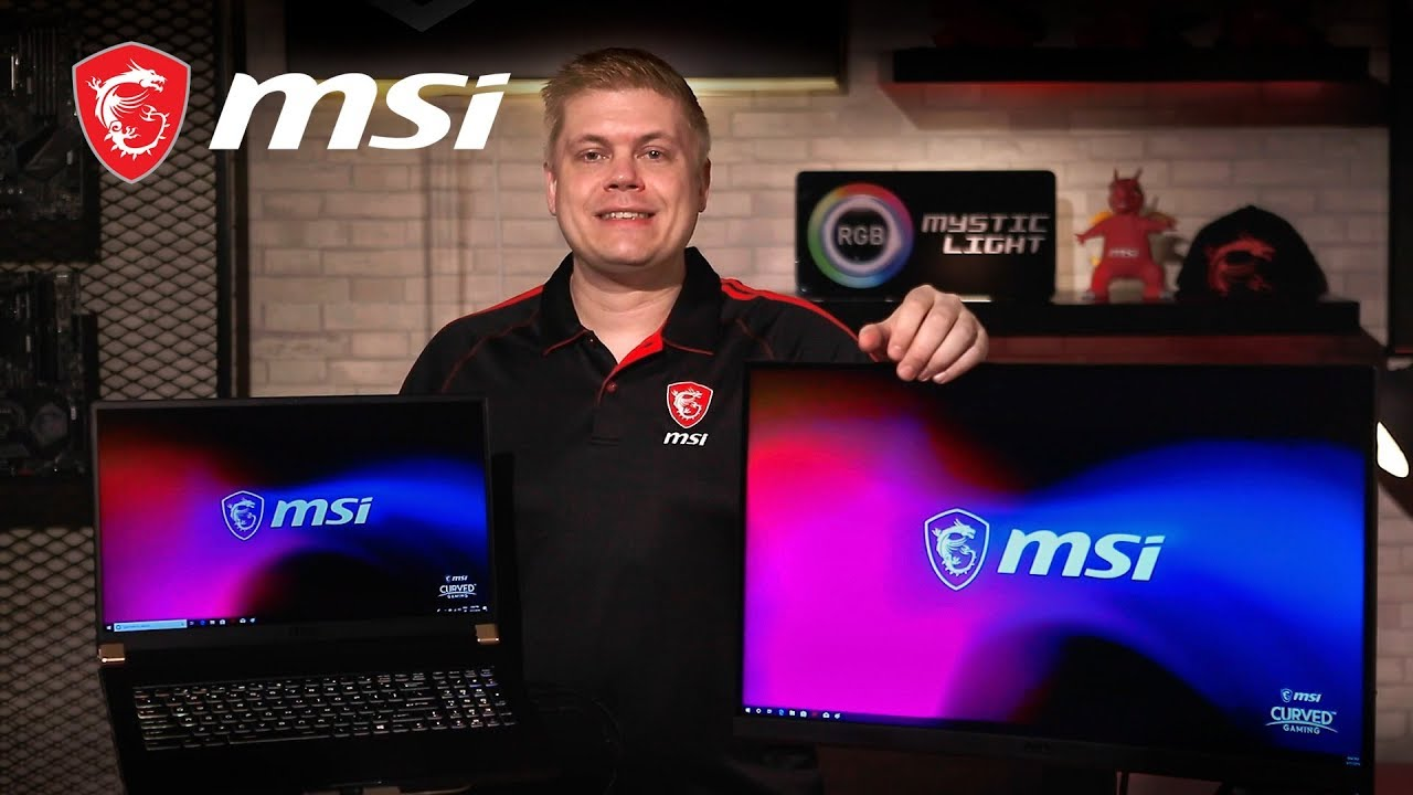 MSI Pro Cast #27 - How to Setup & Use Multiple Monitors to a Laptop | Gaming Monitor | MSI