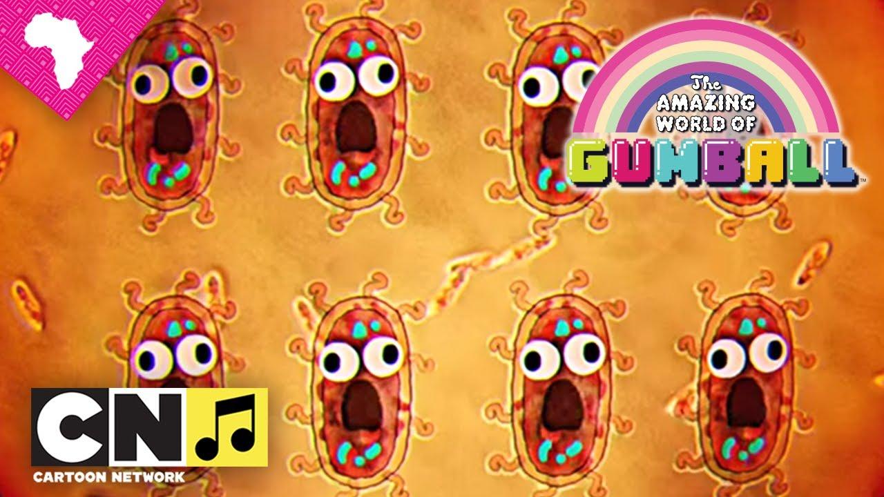 The Amazing World Of Gumball Bacteria Cartoon Network