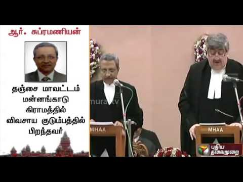 Details of fifteen new judges sworn-in to Madras High Court