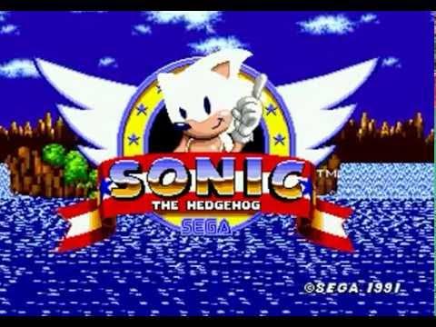 White Sonic In Sonic The Hedgehog (Genesis) - Longplay