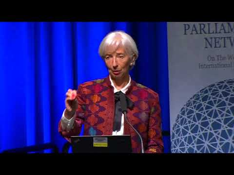 Global Parliamentary Conference 2018 - Townhall Meeting with Jim Kim and Christine Lagarde
