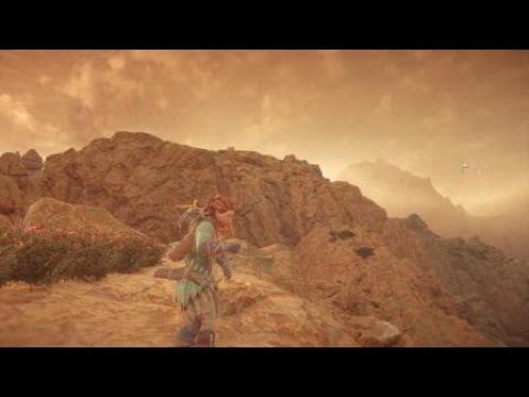 Horizon Zero Dawn Beautiful Sandstorm Youtube