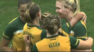Women: Australia vs Korea Republic - 2012 London Olympics Asian Qualifiers