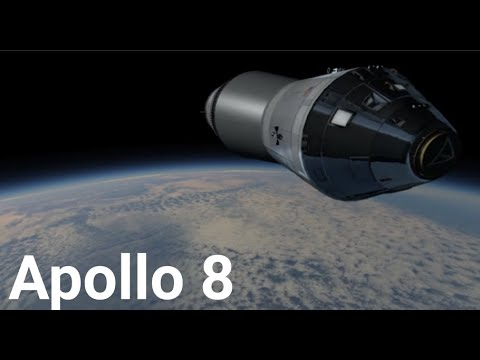 Apollo 8 - Kerbal Space Program (RSS/RO) - ft. Walter Cronkite and CBS News