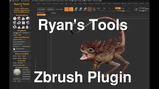 Ryan's Tools: Free Zbrush Plugin