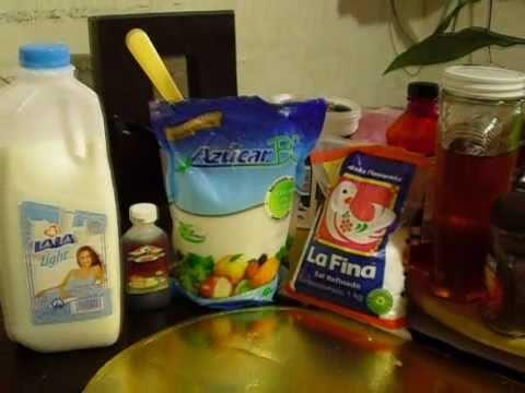 Como hacer helado de vainilla casero loquendo youtube - Como hacer helados caseros ...