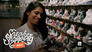 YouTube Sensation Lilly Singh Goes Sneaker Shopping with Complex