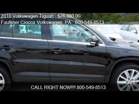 2010 Volkswagen Tiguan SE w/Leather - for sale in Allentown,