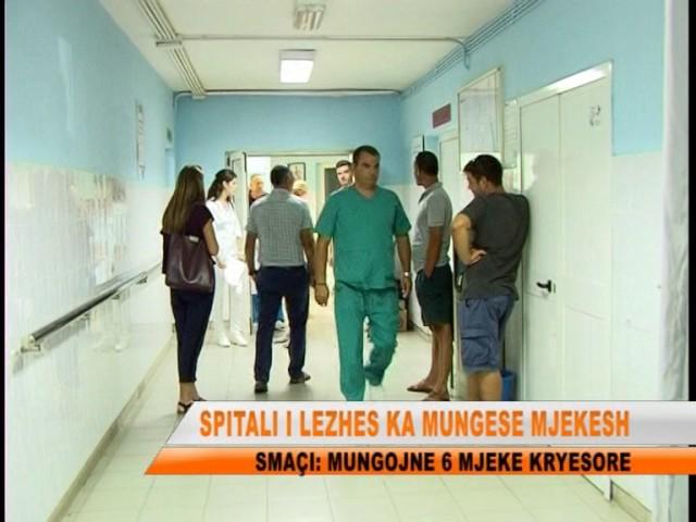 TV LEZHA SPITALI I LEZHES KA MUNGESE MJEKESH
