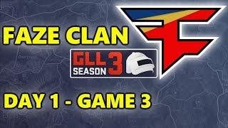 PUBG - GLL TOURNAMENT Season 3 - FAZE CLAN - Day 1 - Game 3