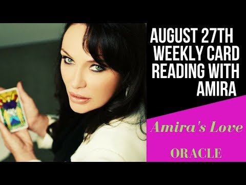 27th August Weekly Channeled Reading with Amira🤗 🤗