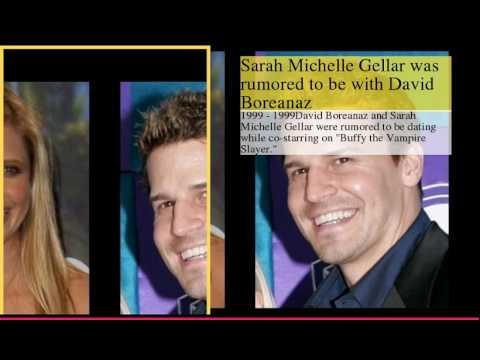 Sarah Michelle Gellar Dating History