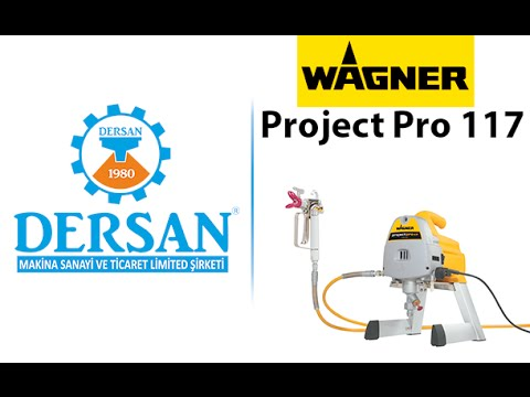 wagner project pro 117 boya makinas youtube. Black Bedroom Furniture Sets. Home Design Ideas