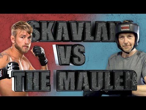 Skavlan & Niklas Vs The Mauler | SVT/NRK/Skavlan