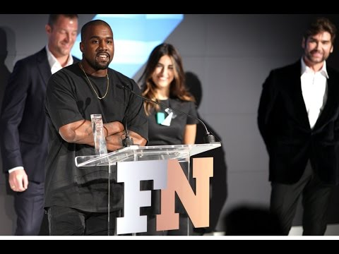 KANYE WEST'S SHOE OF THE YEAR ACCEPTANCE SPEECH