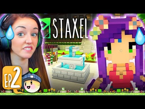 DESTROYING THE TOWN... 😅 (Staxel #2!🐷)