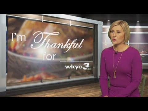 Happy Thanksgiving from WKYC and Sara Shookman
