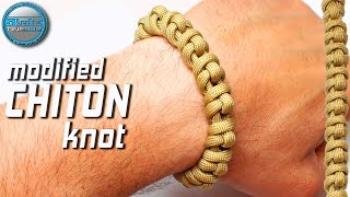 DIY Paracord Bracelet Modified Chiton Knot World Of Paracord How to make Paracord Bracelet Tutorial