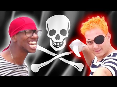 PIRATE OBSTACLE COURSE CHALLENGE!