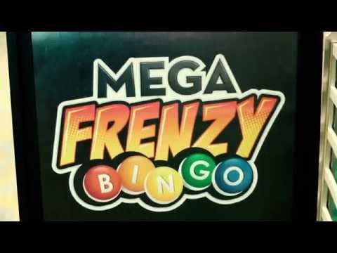 Mega Frenzy Bingo at Riverwind Casino