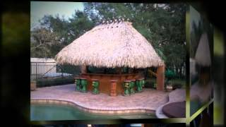 Best Aventura Fl Tiki Hut (954) 282-9242 Custom |designs |builder |bar |palm|umbrella|roof Thatching