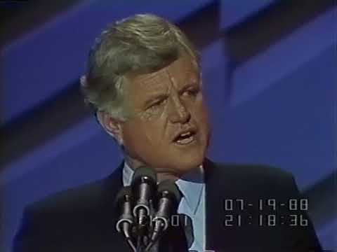1988 Ted Kennedy Preliminary Speech