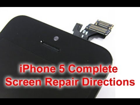 how much to replace iphone 5 screen how to iphone 5 screen repair replacement 19802
