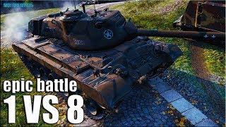 СТАТЮГА БЕРЁТ ТРИ ОТМЕТКИ 🌟 M46 Patton World of Tanks