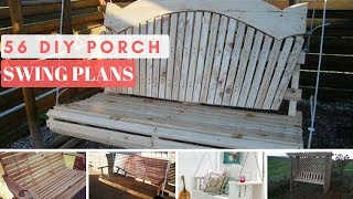 View The Plans ▻▻http://www.mymydiy.com/porch-swing/ We gathered a list of 56 DIY porch swing blueprints so that amateur ...