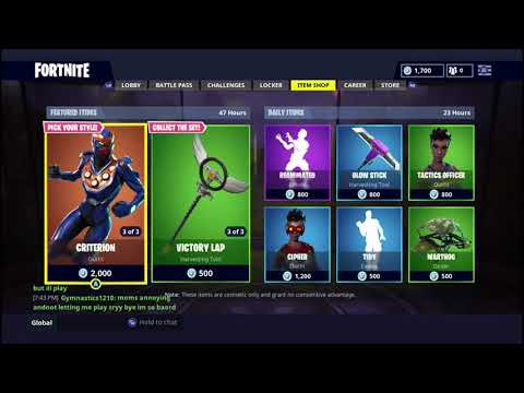 *New* Fortnite Item Shop Update And Reaction August 6 / August 7