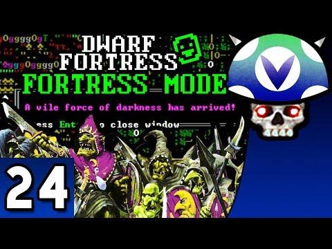 [Vinesauce] Joel - Dwarf Fortress ( Fortress Mode ) ( Part 24 Goblin Siege! )
